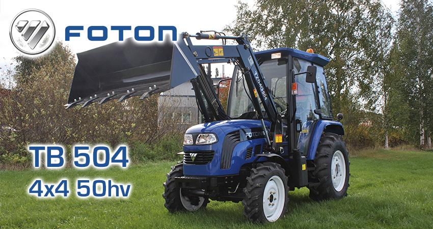 Foton Lovol 504 -traktori